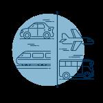 Technische Übersetzungen deutsch-englisch für Mobility- Icon