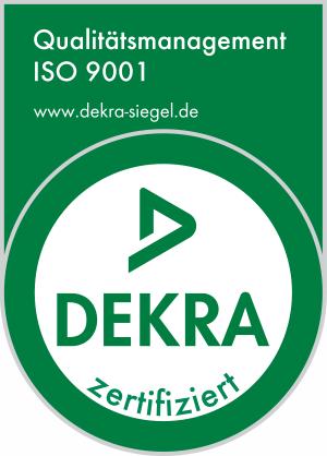 Dekra Zertifizierung nach DIN ISO 9901
